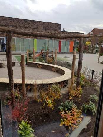 Groene speelplaats Teresiaschool Waalwijk